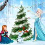 Olaf Christmas Jigsaw Puzzle